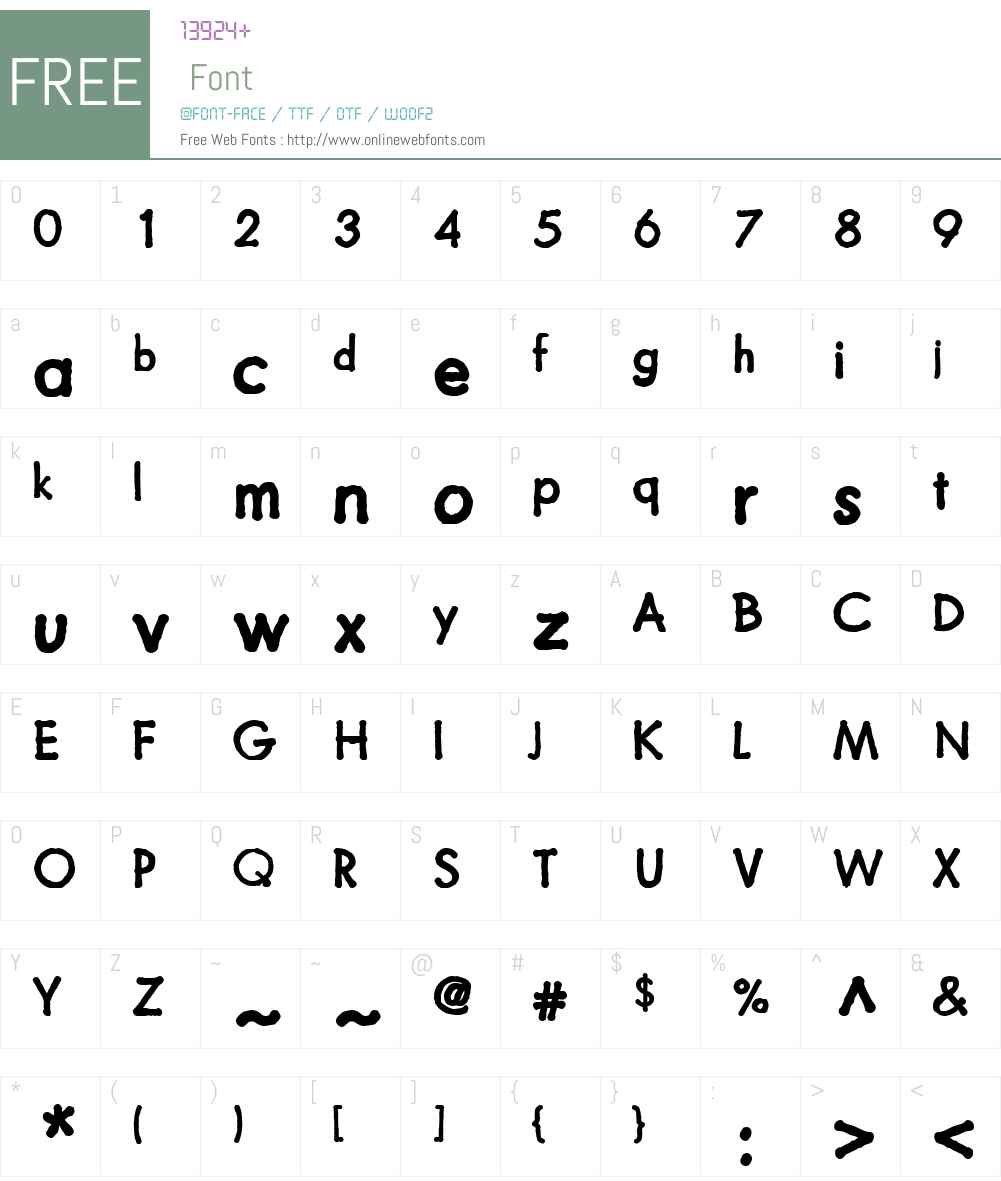 FuturamanoW01-Bold Font Screenshots