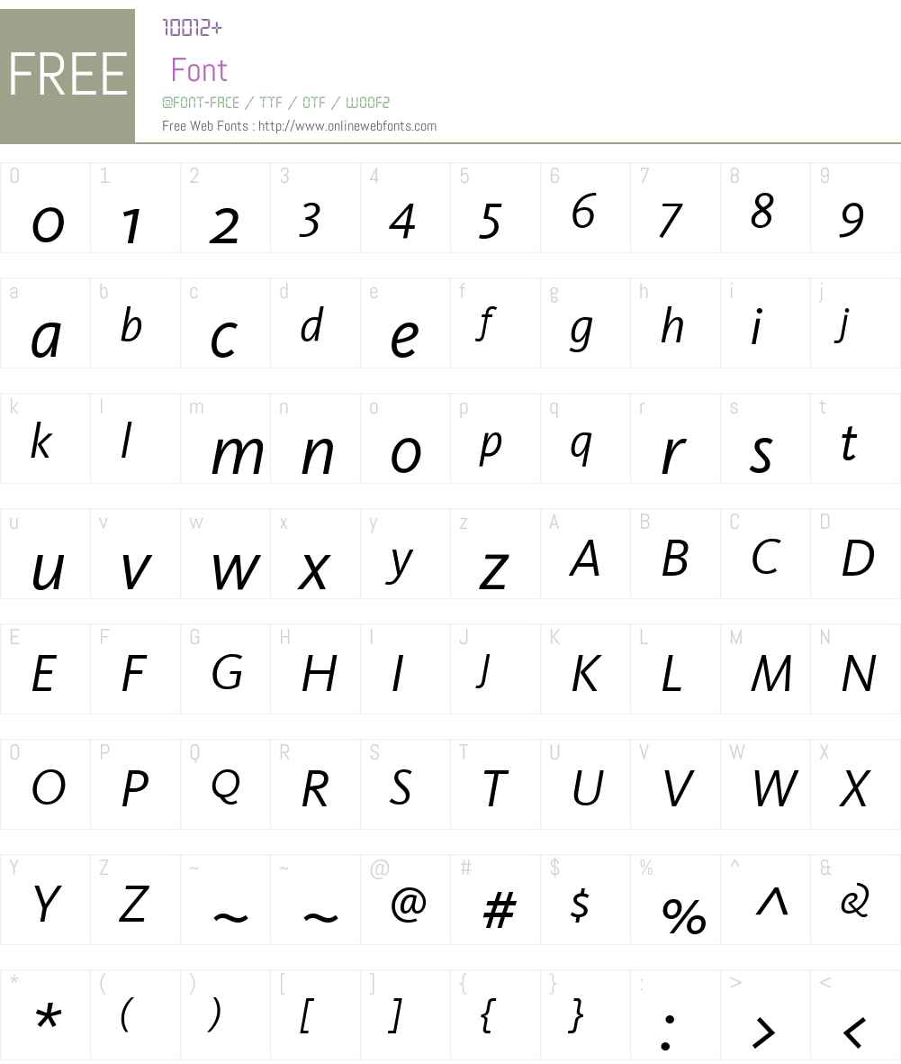 Kievit Font Screenshots