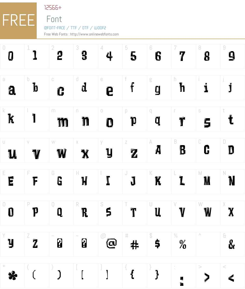 Vademecum Font Screenshots