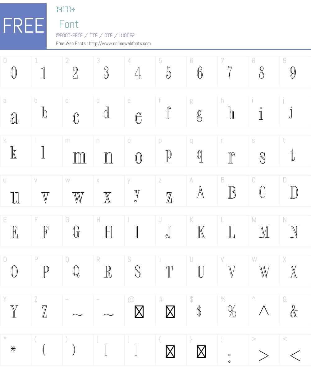 Fashion Engraved Std Font Screenshots