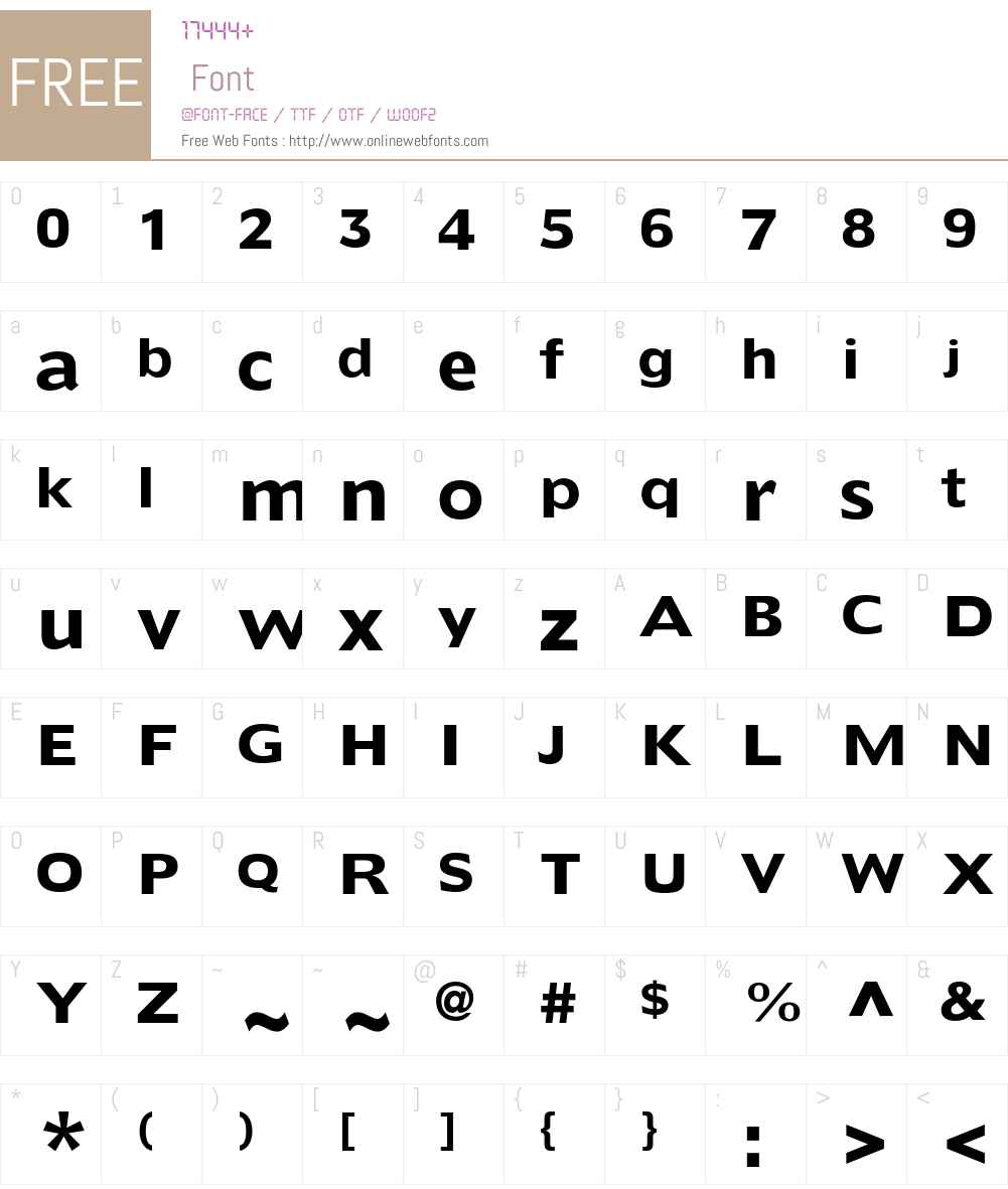 Doric LT Std Font Screenshots