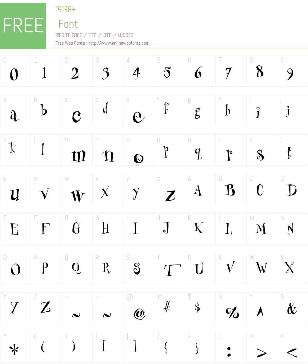 Mister Font Screenshots
