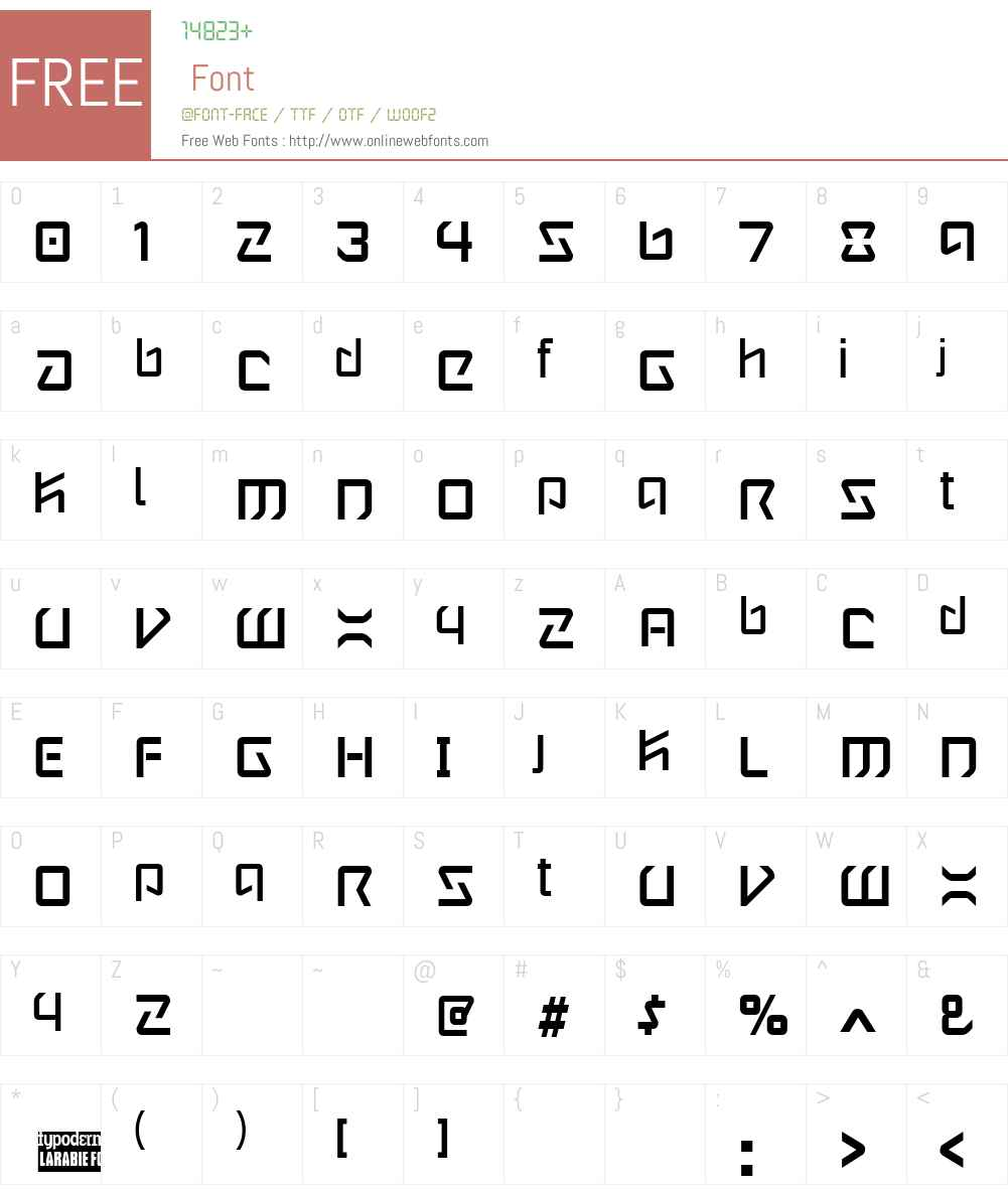 Wintermute Font Screenshots