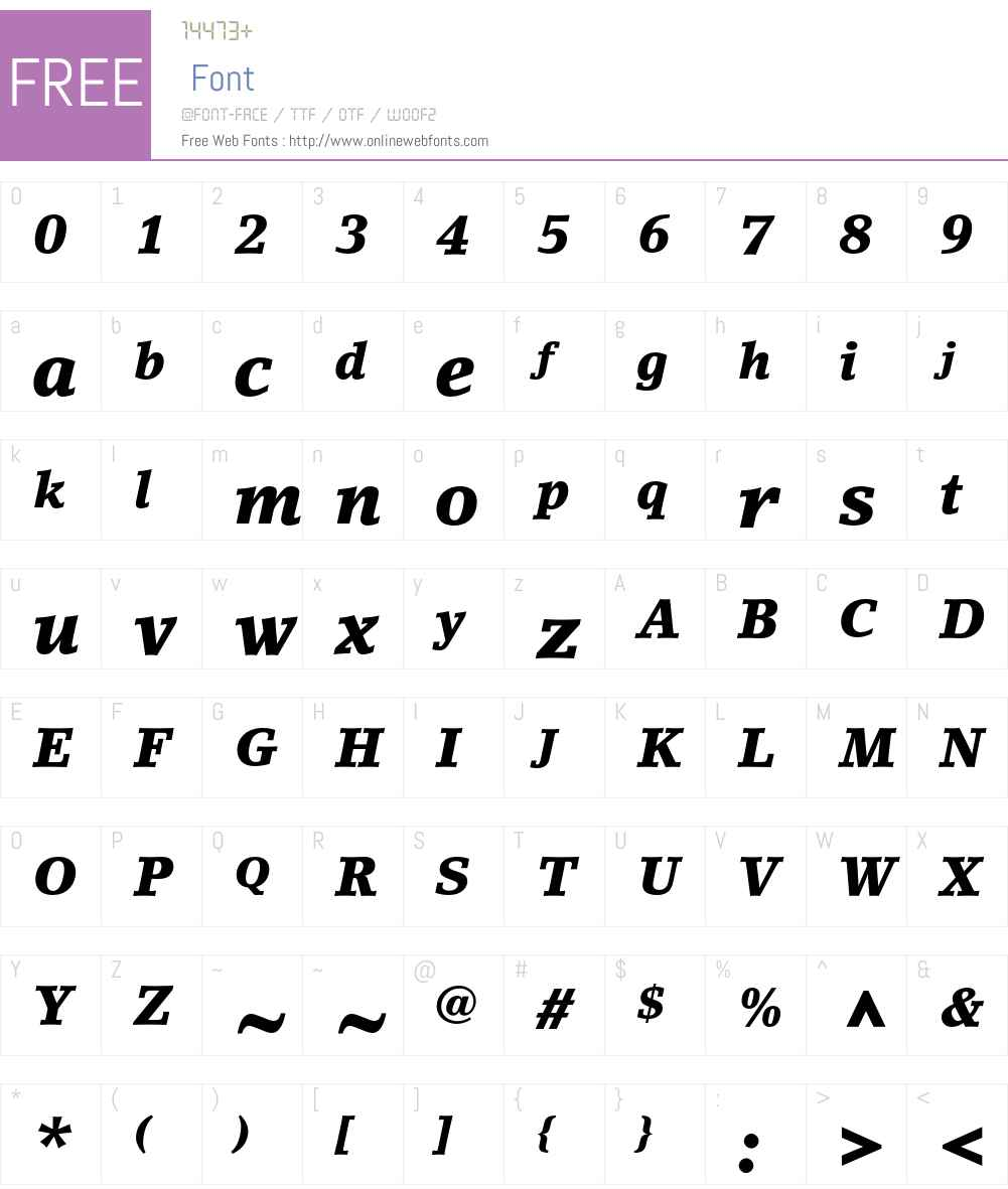 LinoLetter Std Font Screenshots