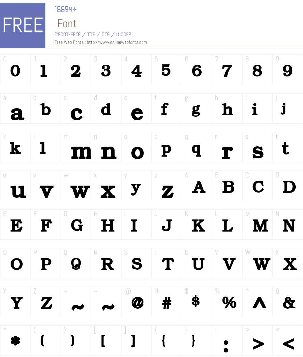 ER Bukinist Mac Font Screenshots