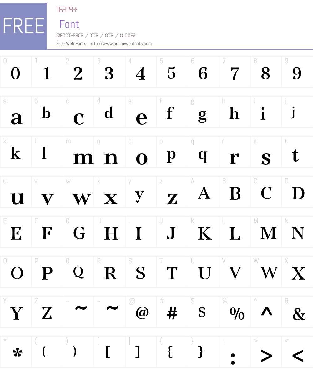 JamilleEF-Bold Font Screenshots