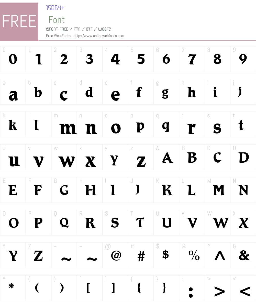 Romic LT Light Font Screenshots