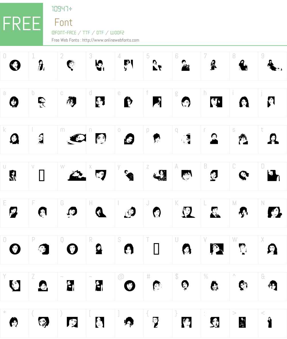 Rena Font Screenshots