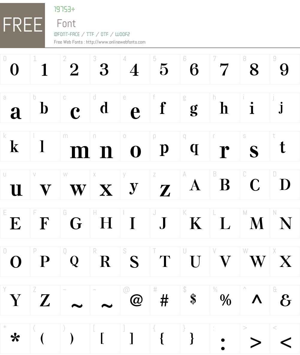 ElseNPLW01-Bold Font Screenshots