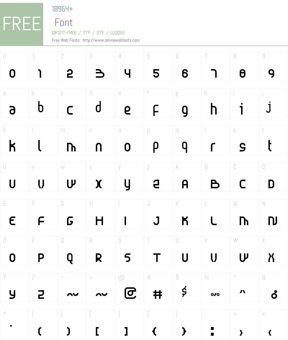 Probolinggo Font Screenshots