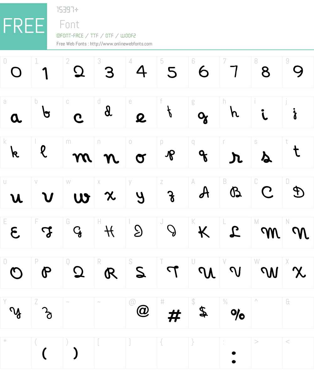 Holiday-India Font Screenshots