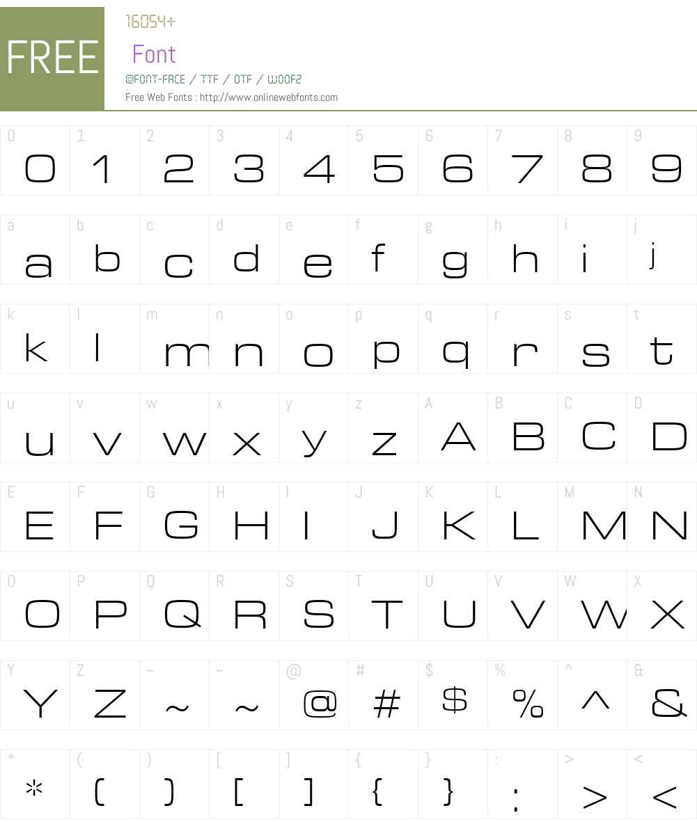 ArianLT-Light Font Screenshots