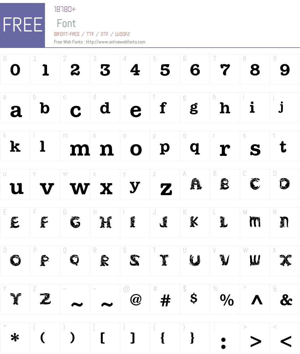 KADinoSob Font Screenshots