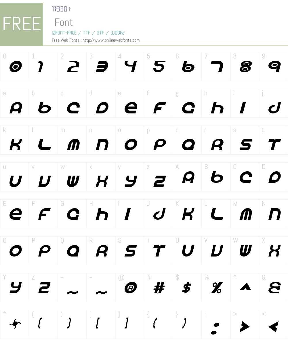 Vocaloid Font Screenshots