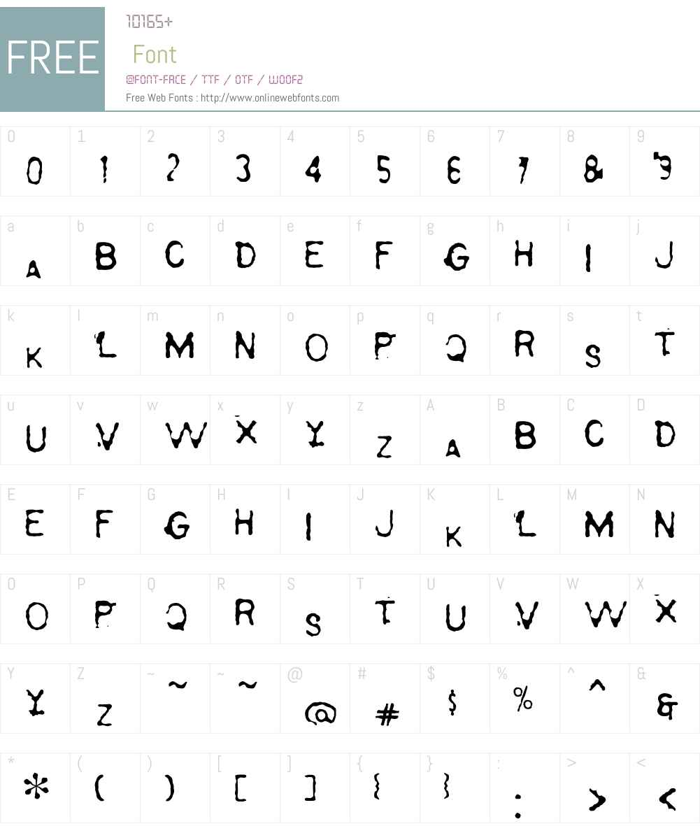 Serapis Font Screenshots