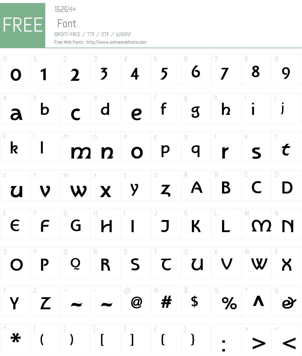 Rotate Font Screenshots