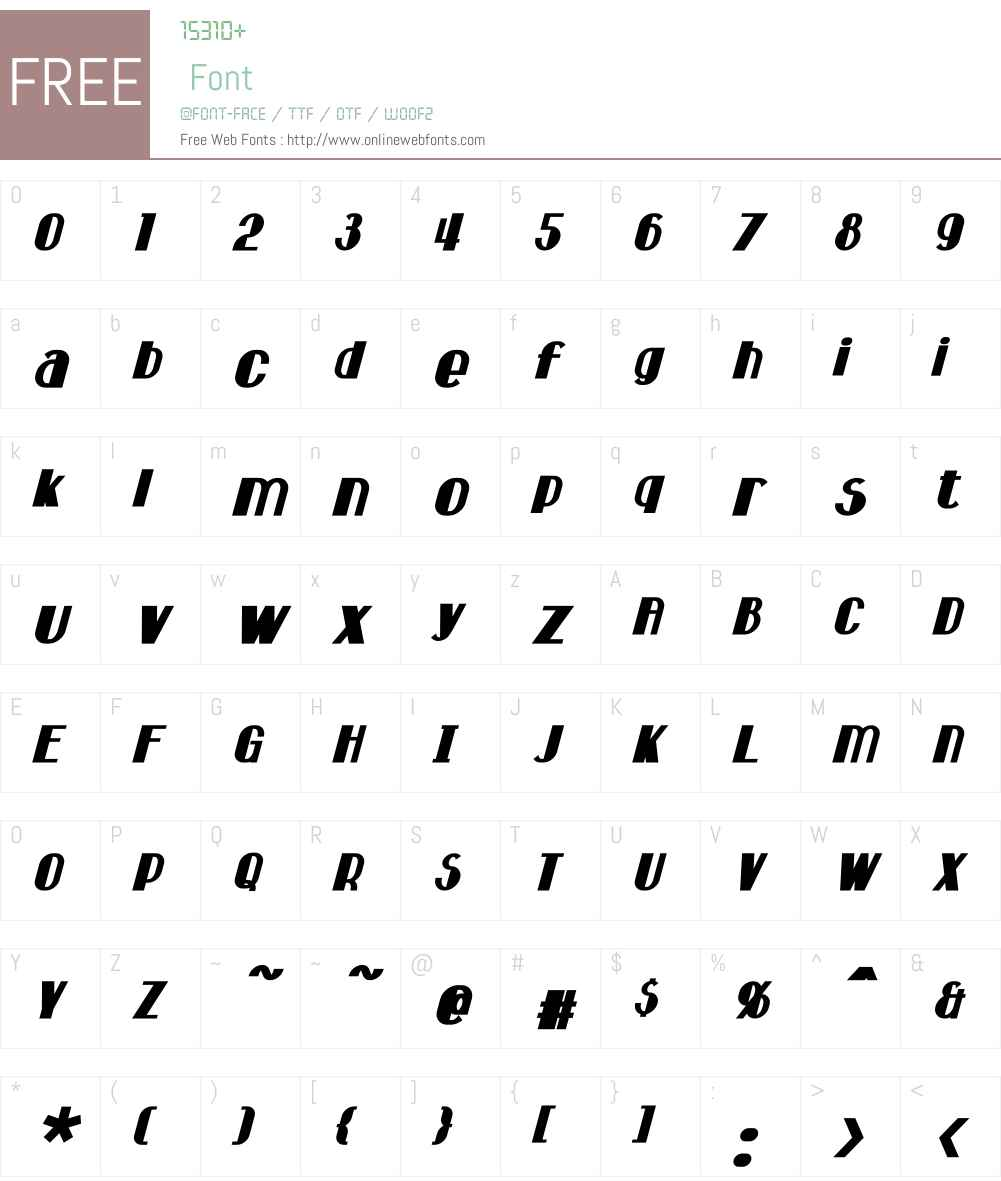 Hastings Font Screenshots