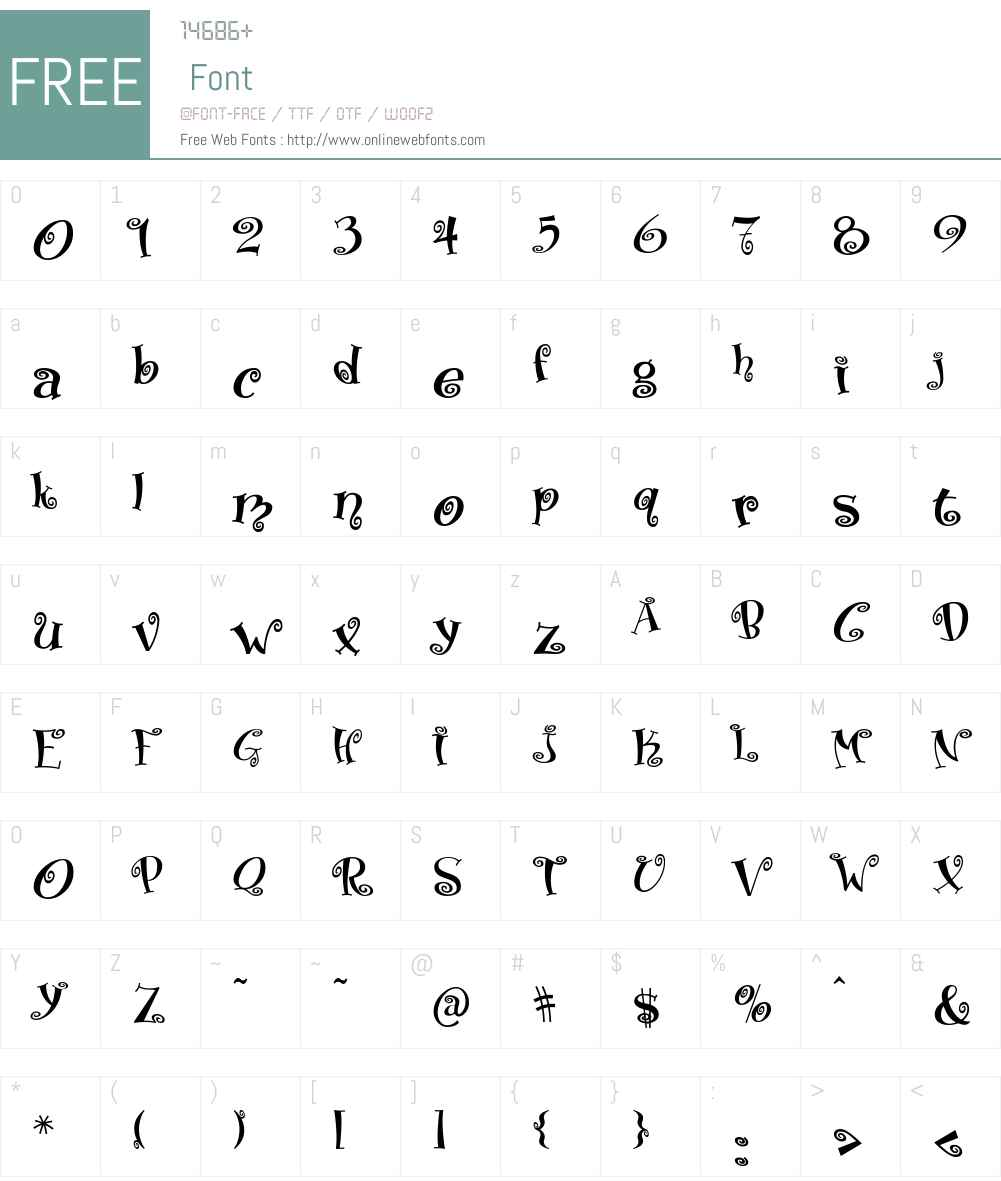 Matreshka Font Screenshots
