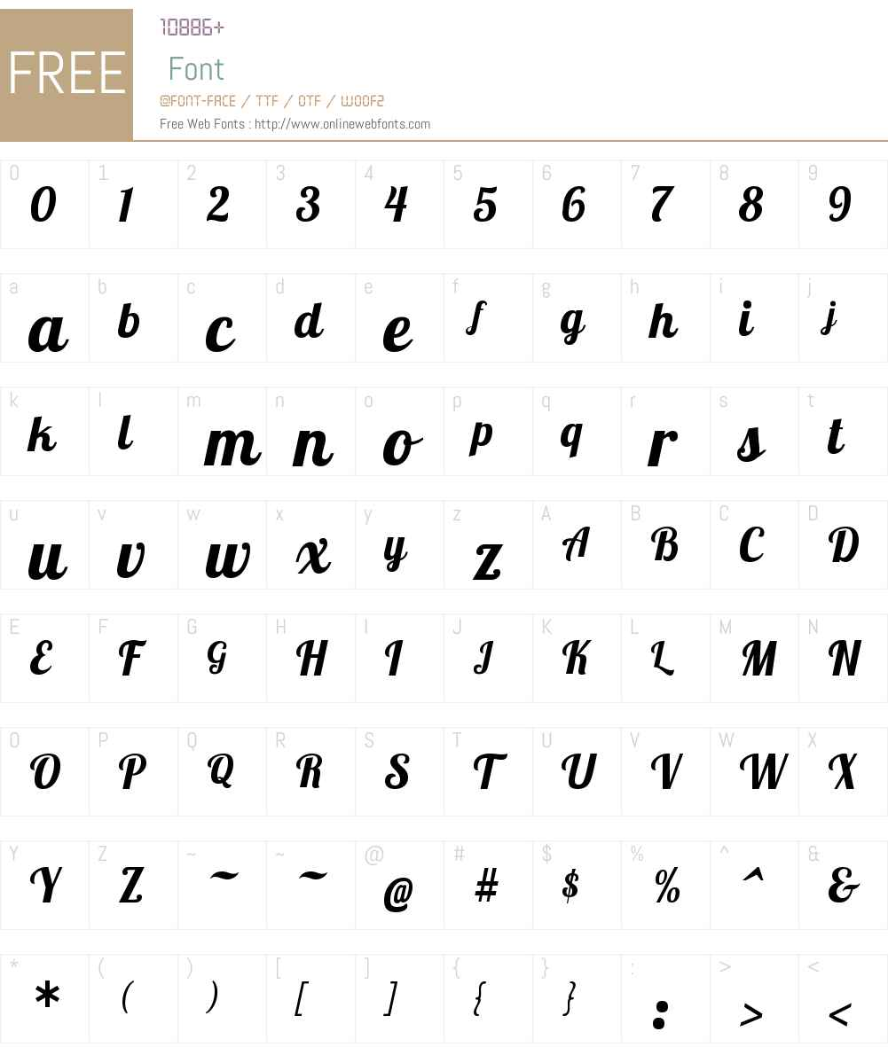 Lobster 1.4 Font Screenshots