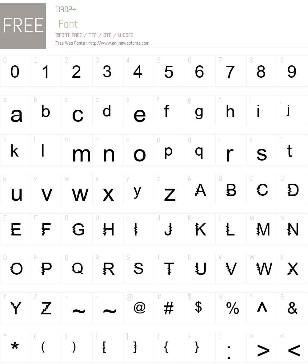 Zing Diddly Doo Font Screenshots