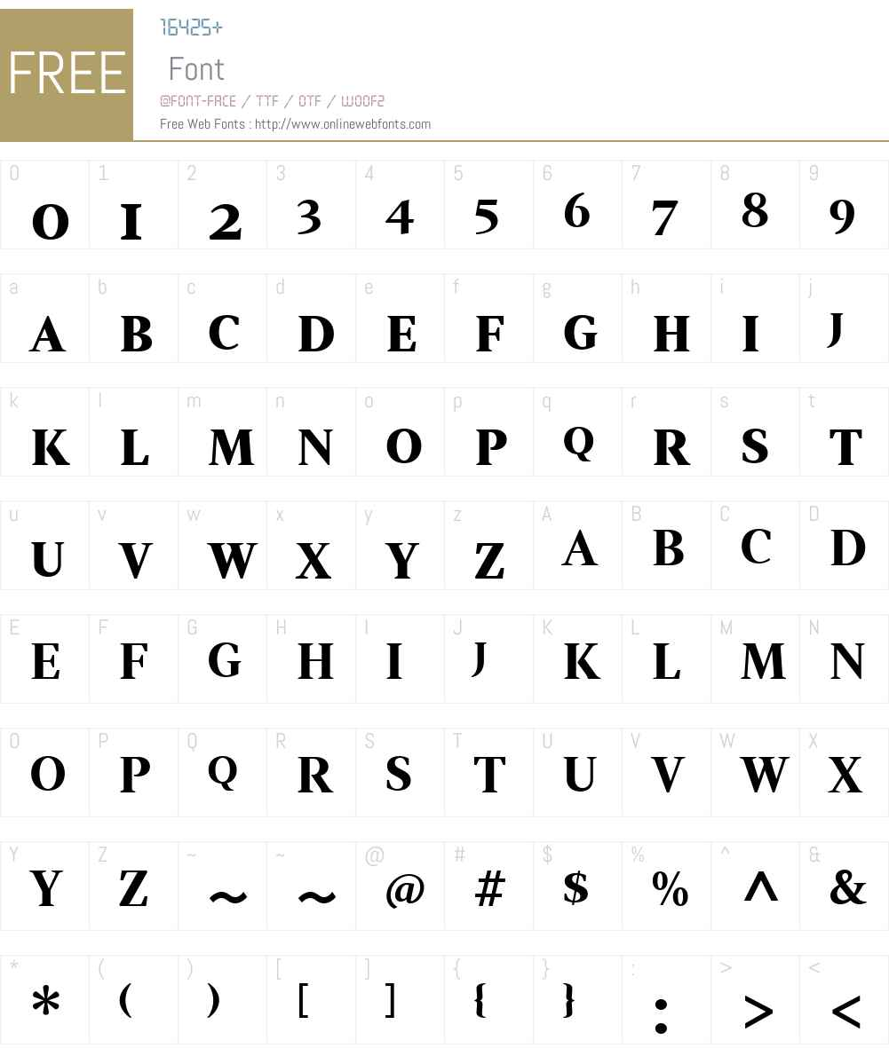 Strato Pro Font Screenshots