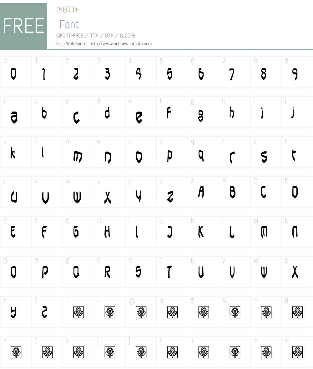 pasundan Font Screenshots