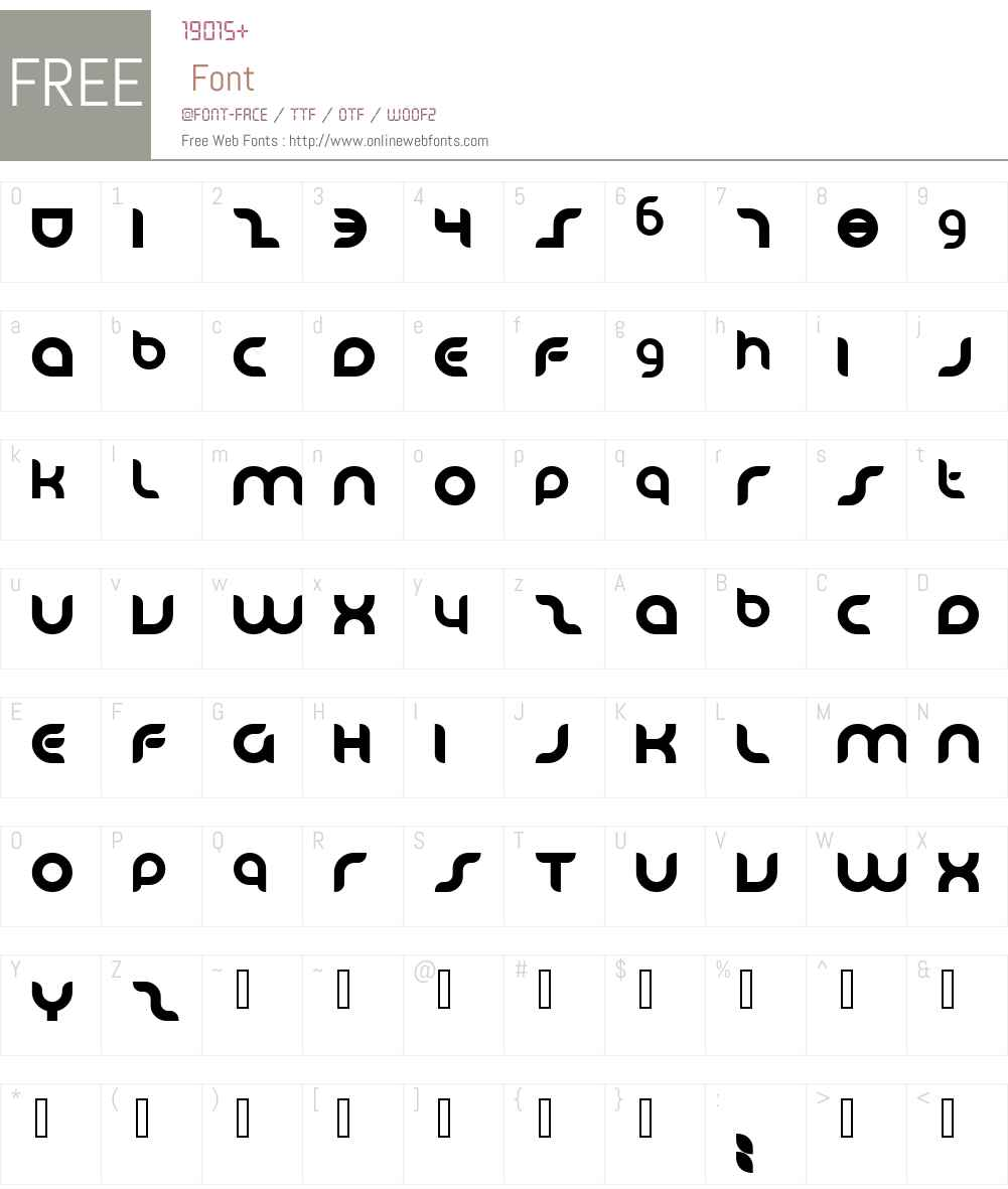 Danube Font Screenshots