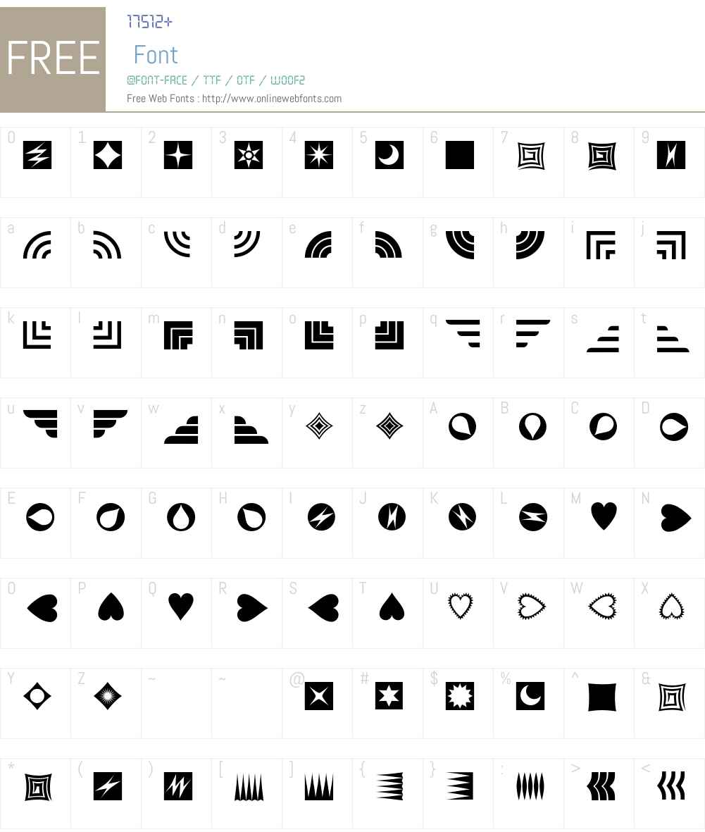Altemus Font Screenshots