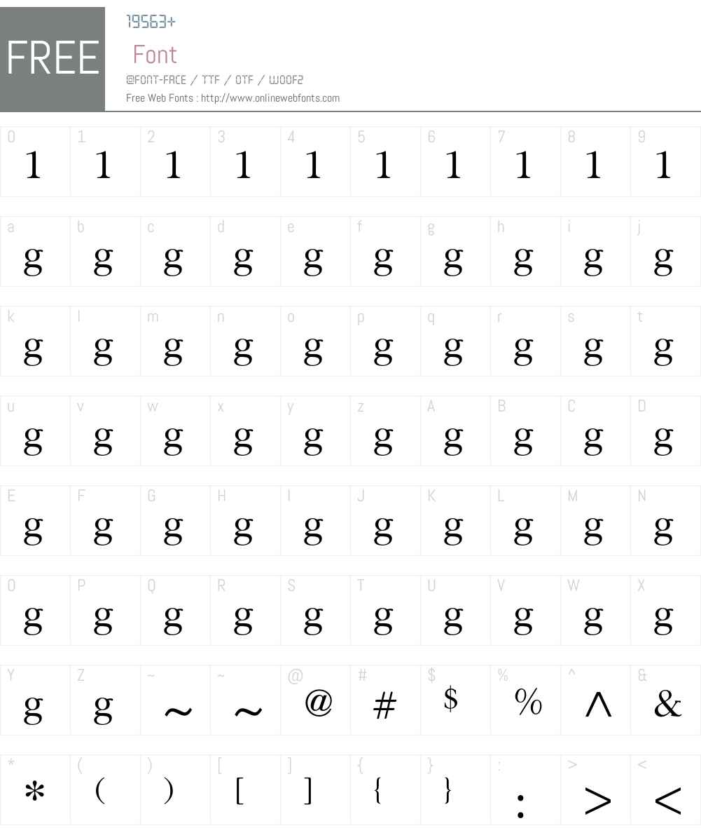 Religion Font Screenshots