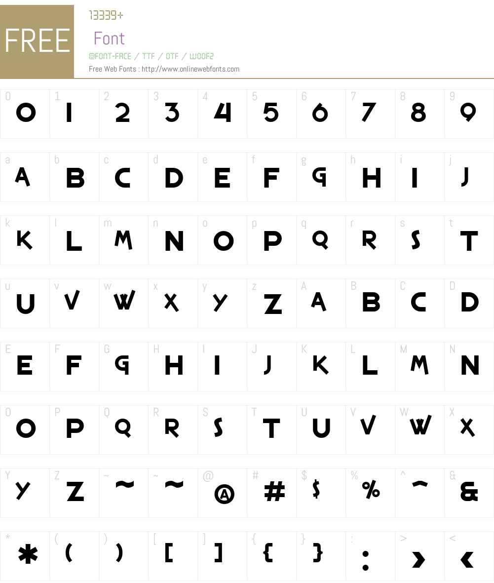 SF Espresso Shack Font Screenshots