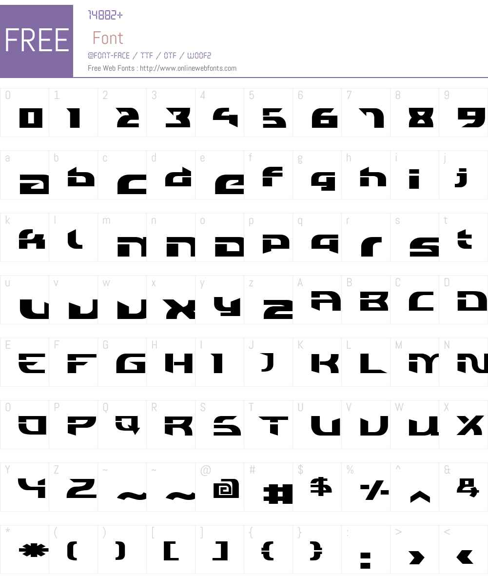 Individigital Black Font Screenshots