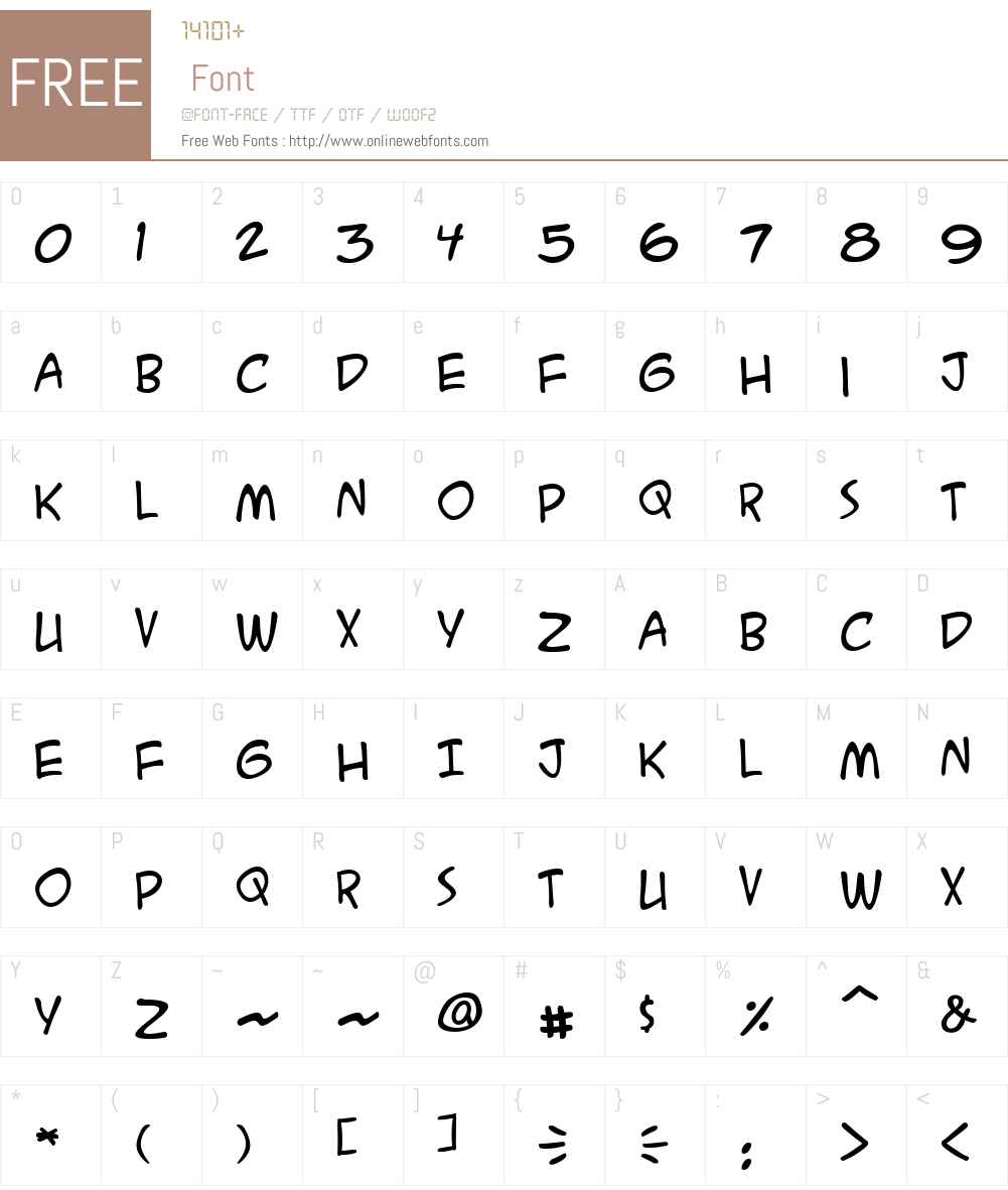 ACME Secret Agent BB Font Screenshots