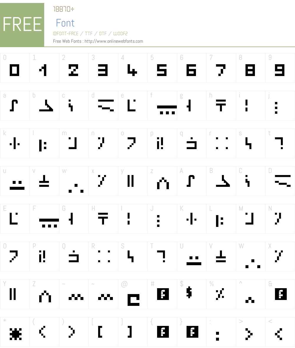 minecraft enchantment Font Screenshots