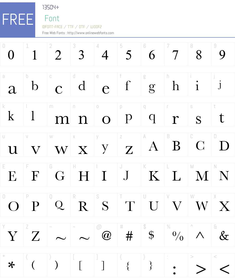 New Athena Unicode Font Screenshots