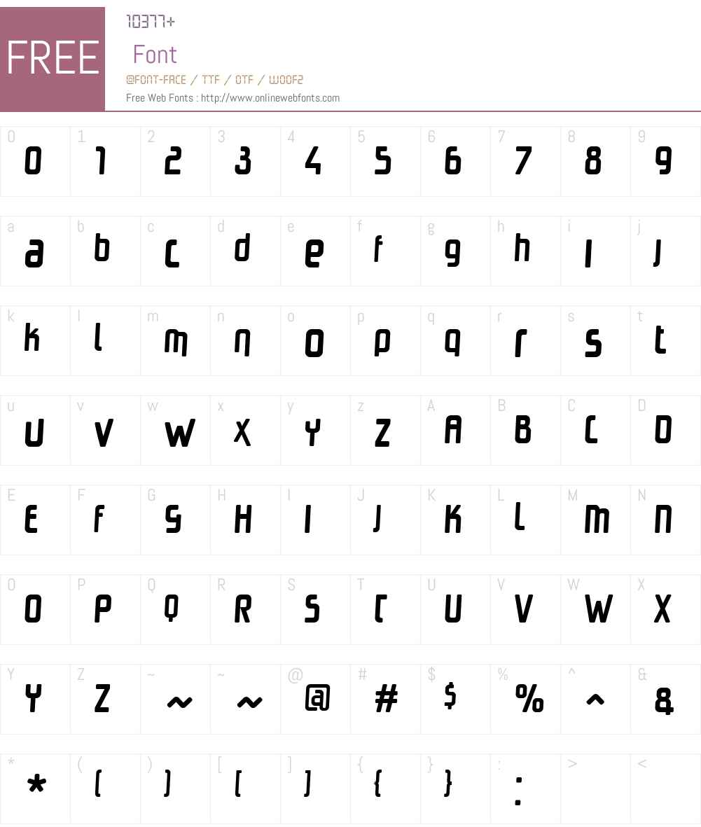 HangtimeRadW00-Regular Font Screenshots
