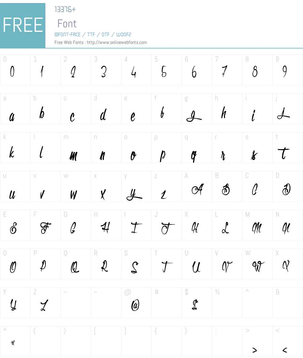 Olympic Branding Font Screenshots