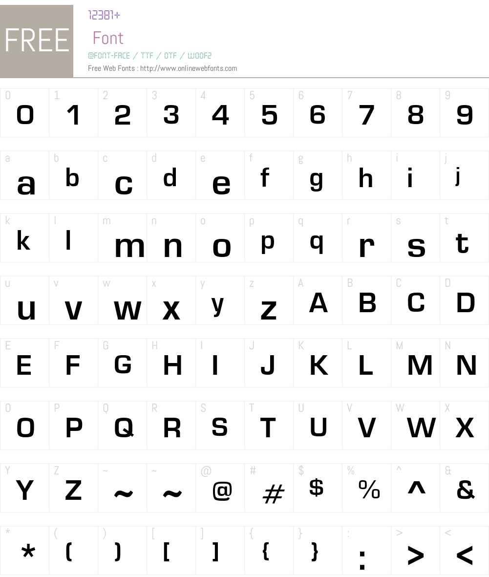Grantyoe Font Screenshots