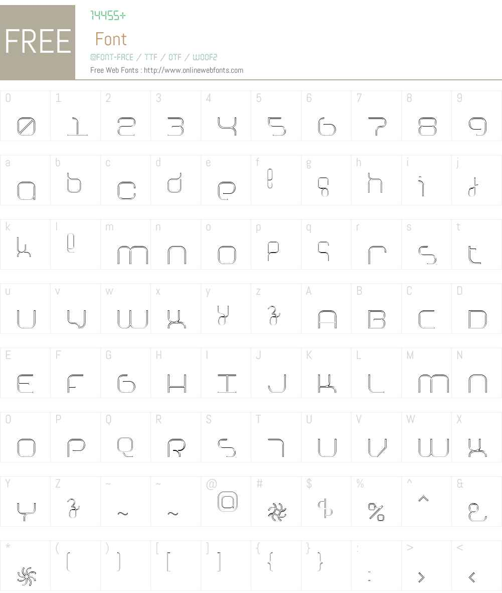 Basix Font Screenshots
