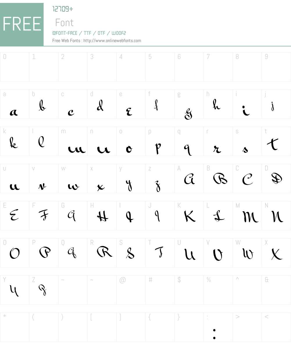 Vonnegut Font Screenshots