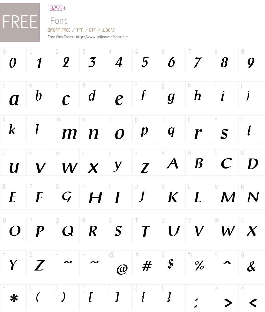 Scriptuale Font Screenshots