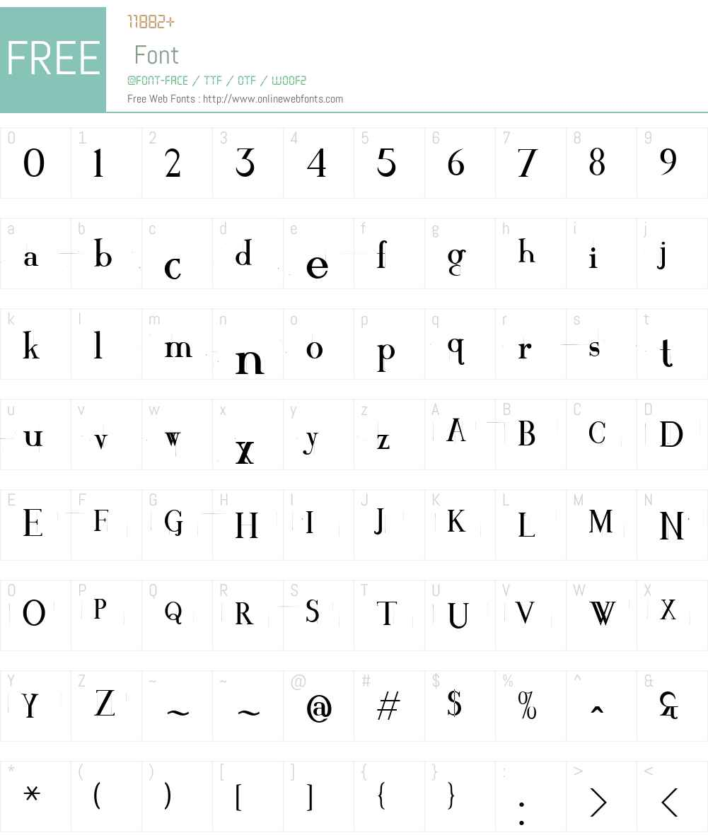 Crackin' Font Screenshots