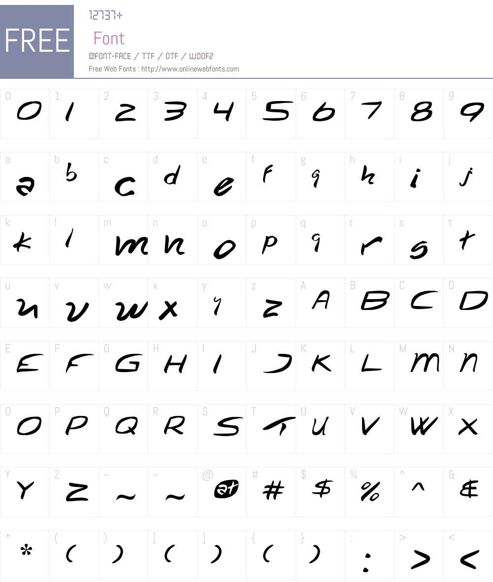 Turkiye Font Screenshots