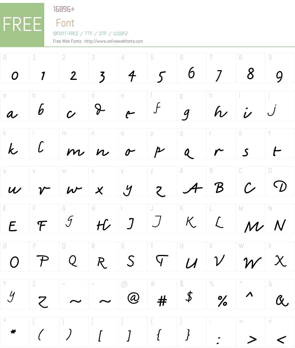 Amadeo Std Font Screenshots