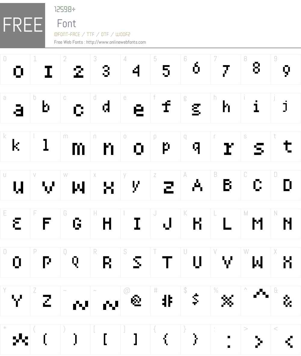 WeekendWebW01-MonoOsF Font Screenshots