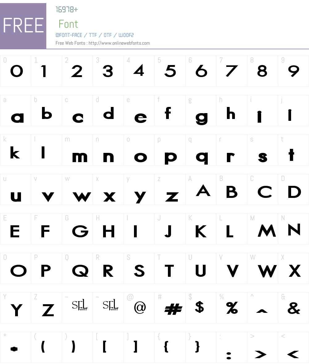 Magnus Font Screenshots