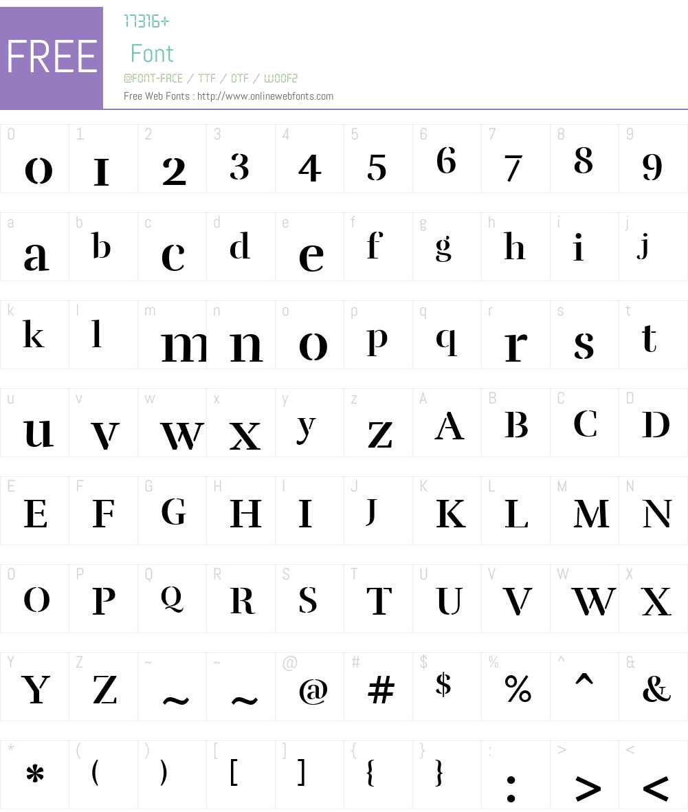 Rufina-Stencil-Bold Font Screenshots