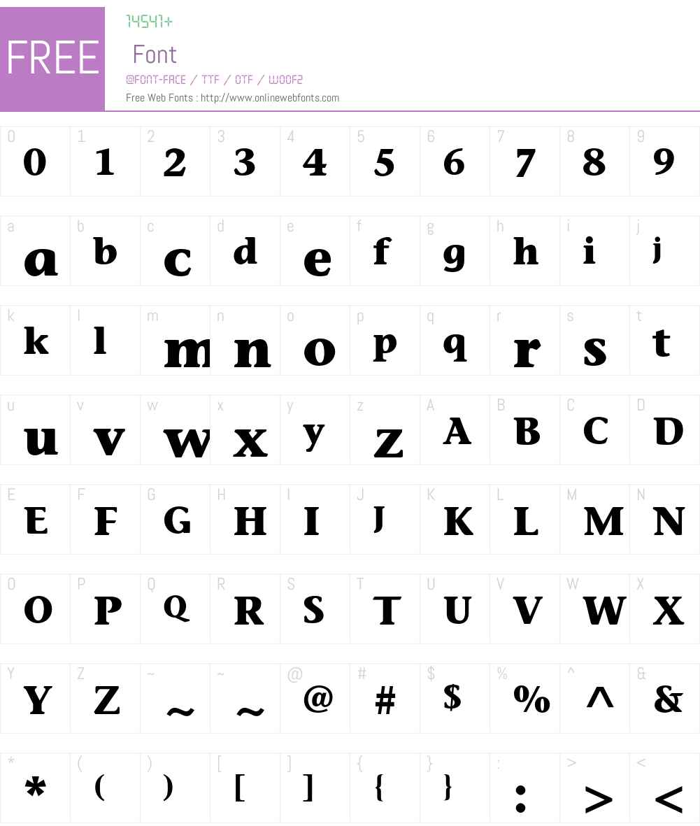ITC Stone Informal Std Font Screenshots
