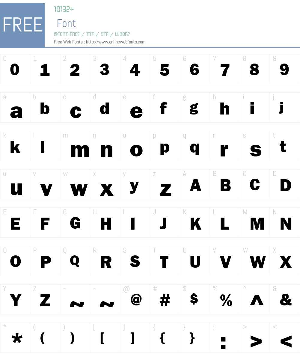 ITC Franklin Gothic Std Font Screenshots