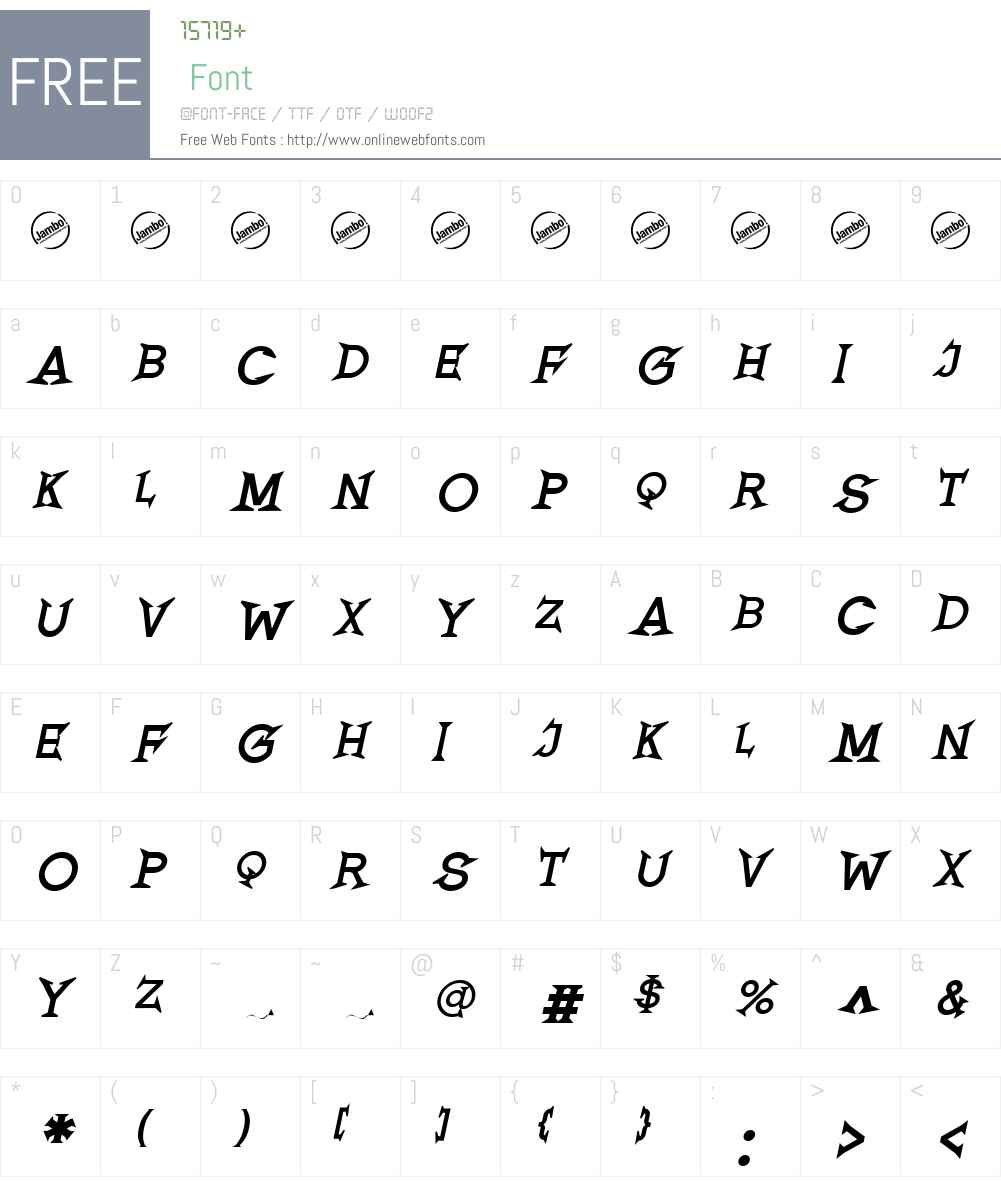 Romanicum Font Screenshots