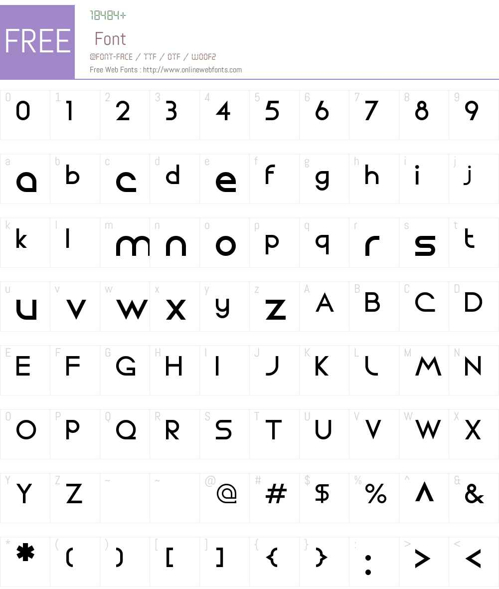 Circo Font Screenshots